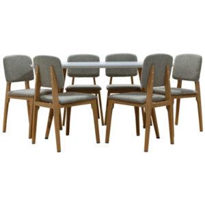 Comedor Dianxia con 6 sillas