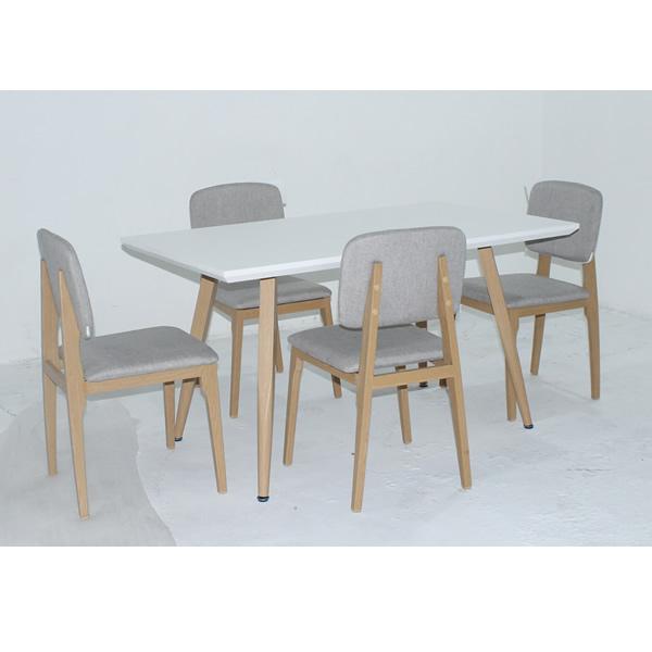 Comedor Dianxia con 4 sillas