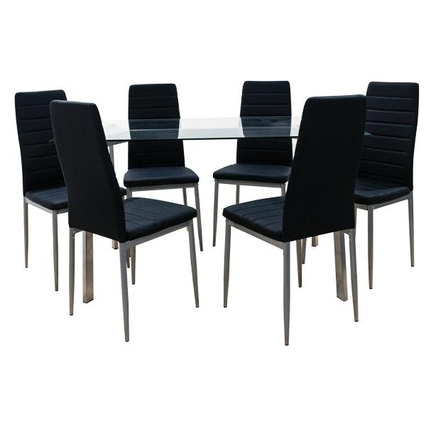 Comedor Tanxia con 6 sillas